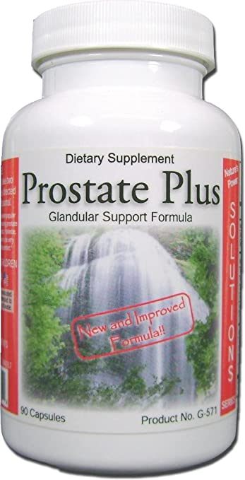 Prostate Plus, Natural Prostate Support Supplement, Advanced Therapeutic Dose, for Enlarged Prostate with