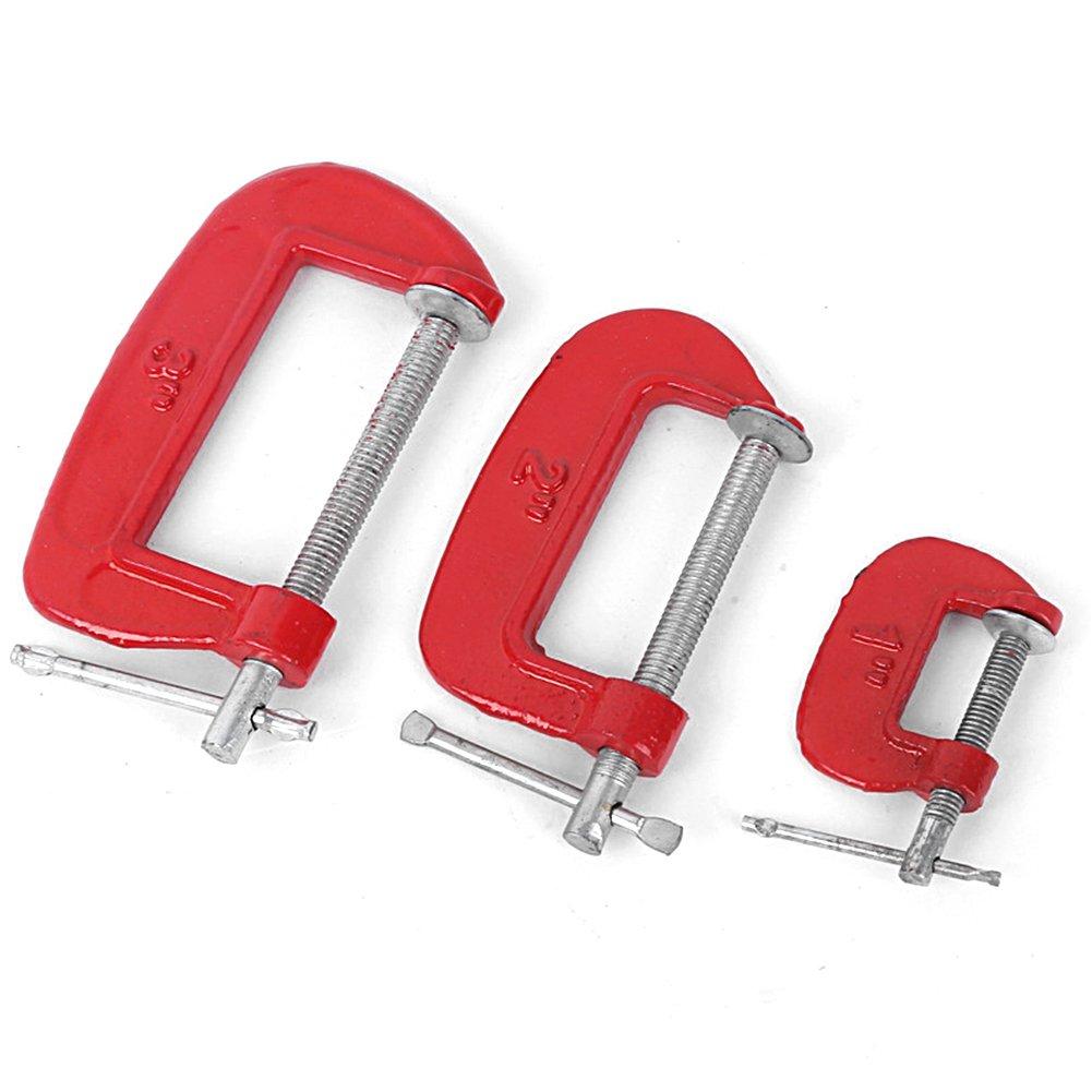 EMVANV G type de menuiserie Pince de serrage appareil r/églable DIY de menuisier Gadgets Heavy Duty G Clamp As Picture Show 1 inch