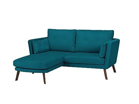 Mazzini Sofas sofá de Esquina Izquierda, Elena, 3 plazas ...