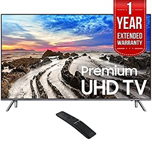 Samsung UN82MU8000 82-Inch UHD 4K HDR LED Smart HDTV (2017 Model) w/ 1 Year Extended Warranty