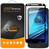 (2 Pack) Supershieldz for Motorola (Droid Turbo 2) Tempered Glass Screen Protector, (Full Screen Coverage) Anti Scratch, Bubb