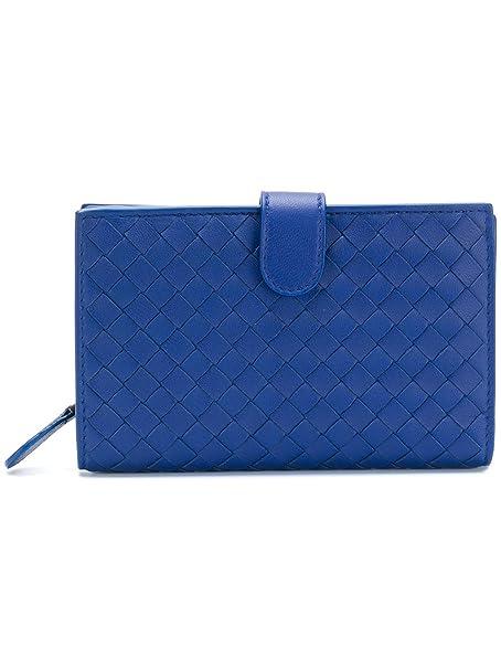 Bottega Veneta - Cartera para mujer Mujer azul Marca Tamaño UNI: Amazon.es: Ropa y accesorios