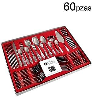 - Cuberter/ía acero inoxidable de alta calidad Karcher Cubiertos Denver para 6 personas 30 piezas apto para lavavajillas
