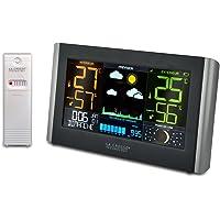 La Crosse Technolgy - WS6836 Station Météo grand écran LCD coloré - Noir