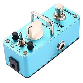 Lorenlli Ajuste Aroma AOV-3 Ocean Verb Reverberación digital Pedal de efecto de guitarra Ecualizador de guitarra Bypass verdadero Accesorios de guitarra ...
