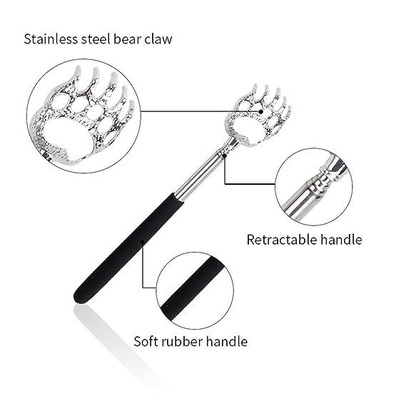 Portable Extendable Back Scratcher Owude Telescoping Scratcher