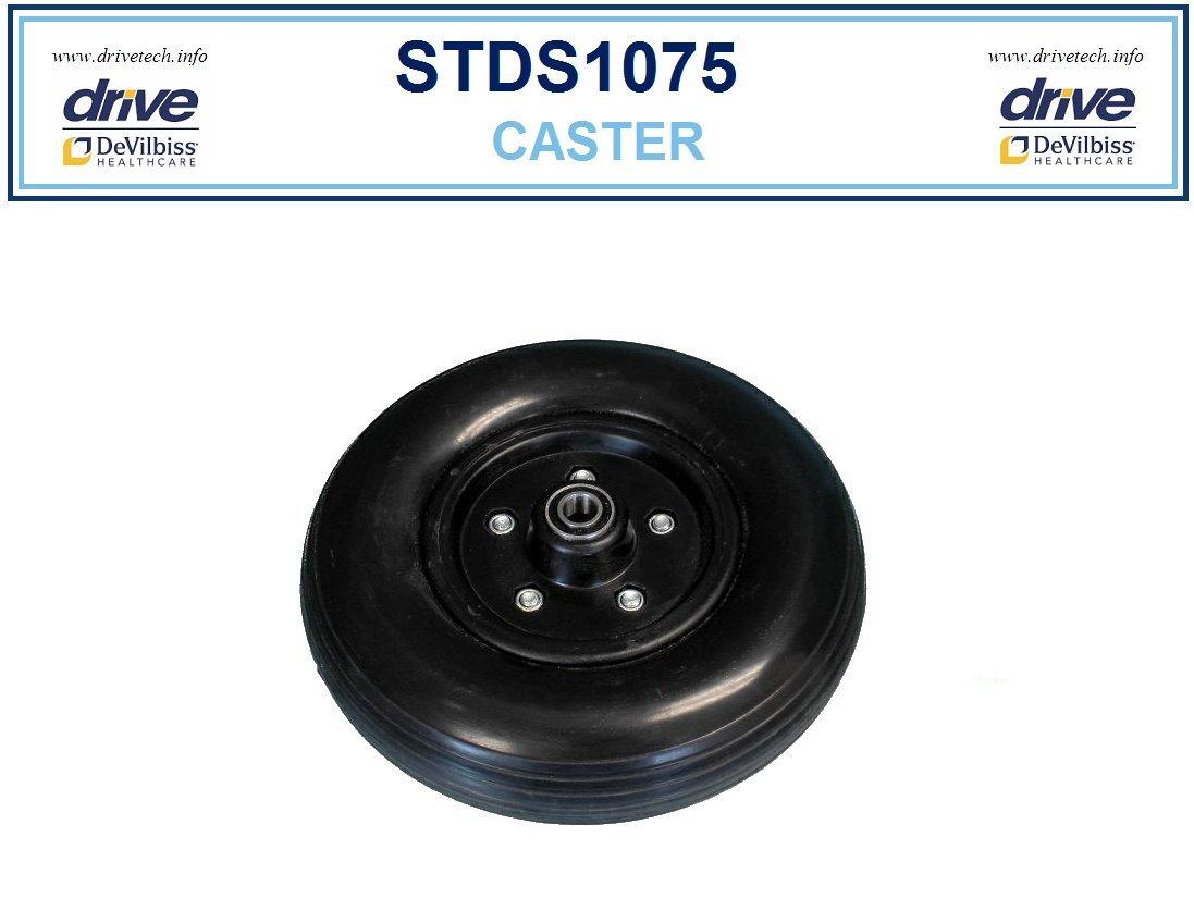 Replacement Front Wheel for Drive Wheelchair the Drive HD Sentra 2A Model # STD20DDA-SF, STD20DDA-ELR, STD20DFA-SF, STD20DFA-ELR, STD22DDA-SF, STD22DDA-ELR, STD22DFA-SF, STD22DFA-ELR, STD22A - 1 Each