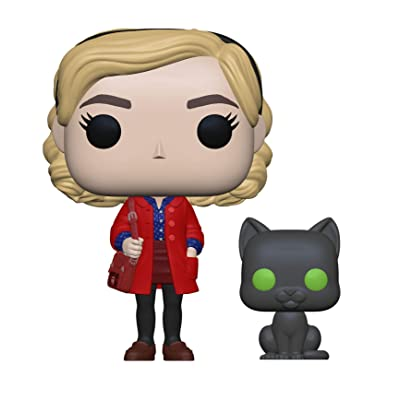 Funko 38866 Pop! & Buddy: Chilling Adventuressabrina with Salem, Multicolor: Toys & Games