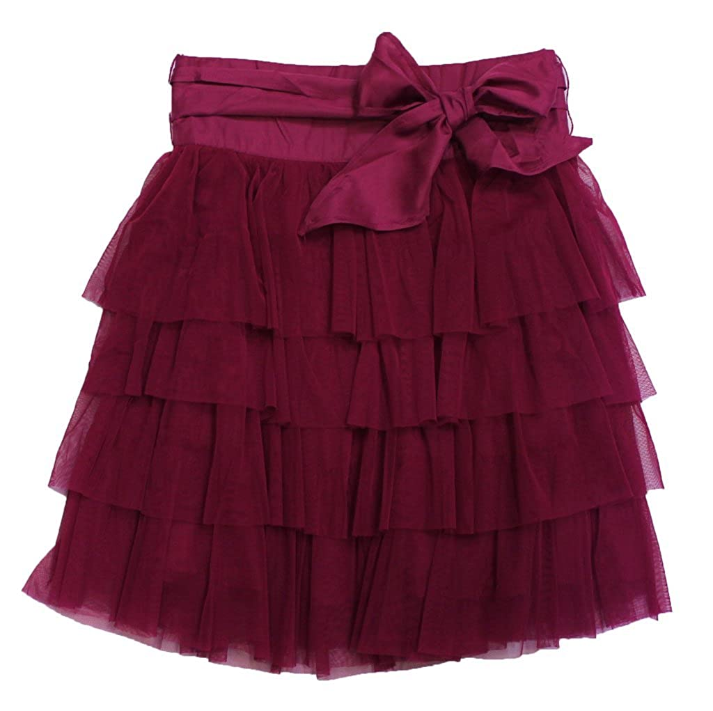 Daisy Petal Girls Girls Ruffle Tulle Skirt