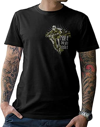 NG articlezz – Ride It Like You Stole It Camiseta – Bicicleta de ...
