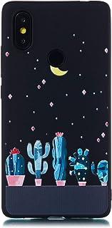 Coque Xiaomi Mi 8 Se,Coffeetreehouse [Noir] Mince TPU Fantaisie Effet Relief Ultra Mince Anti-Rayures Antichocs Case Cover-Les Yeux