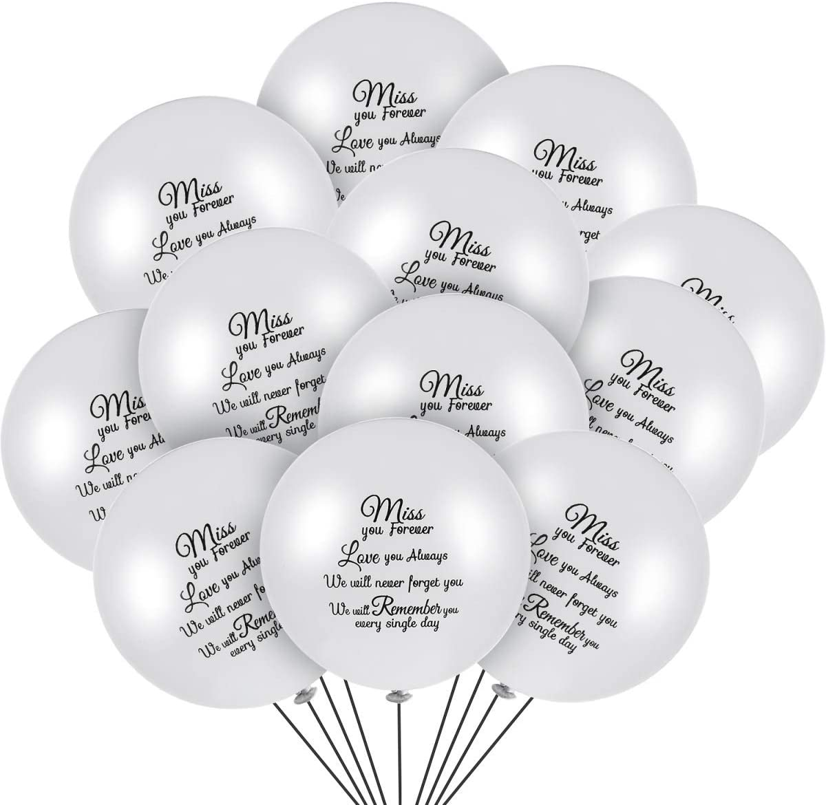 In Loving Memory of Dad Star Remembrance Balloon