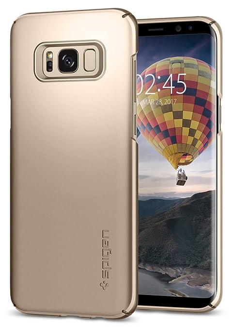 54 opinioni per Cover Galaxy S8 Plus, SPIGEN® Custodia [Thin Fit] Premium finitura opaca di