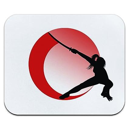 Chica Ninja - Japón bandera japonesa Samurai mujer Katana ...