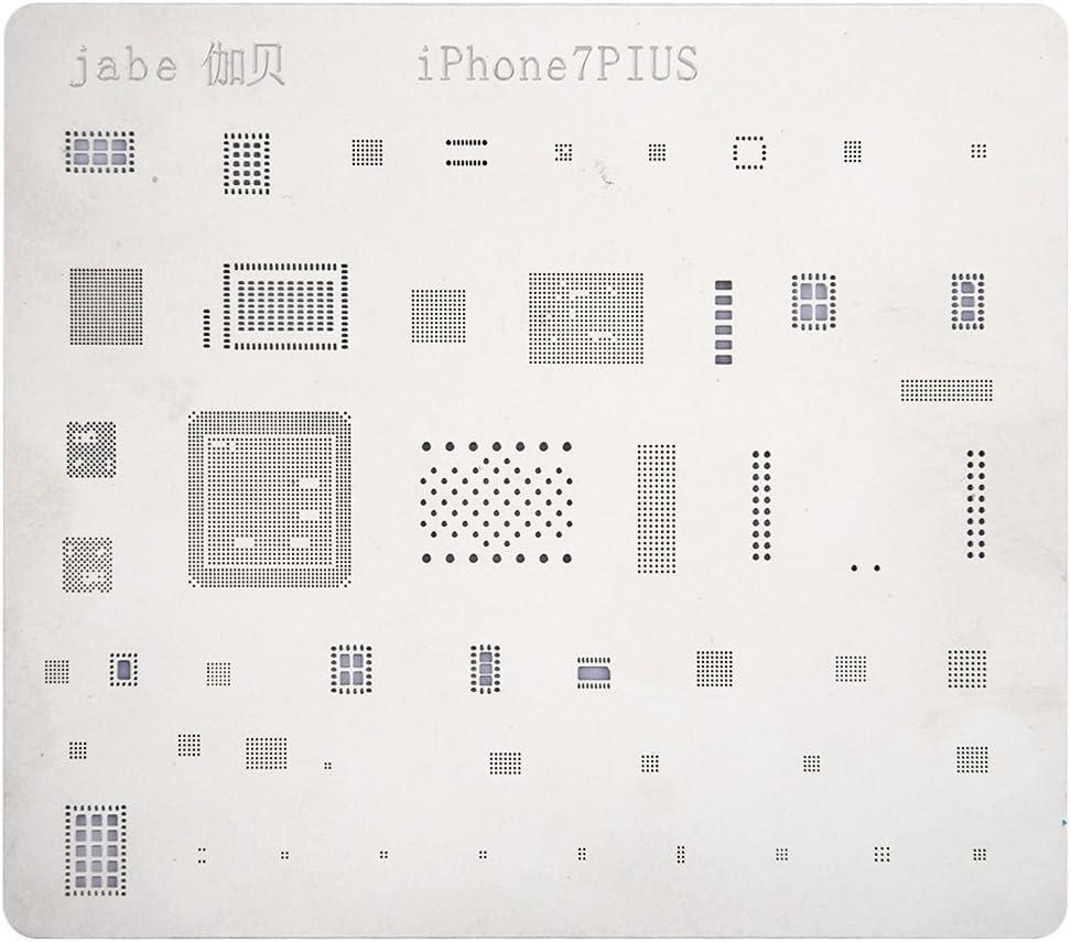 Deluxe Cell Phone Repair Tool Kits Compatible with iPhone 7 Plus Mobile Phone Rework Repair BGA Reballing Stencils Repair Kits