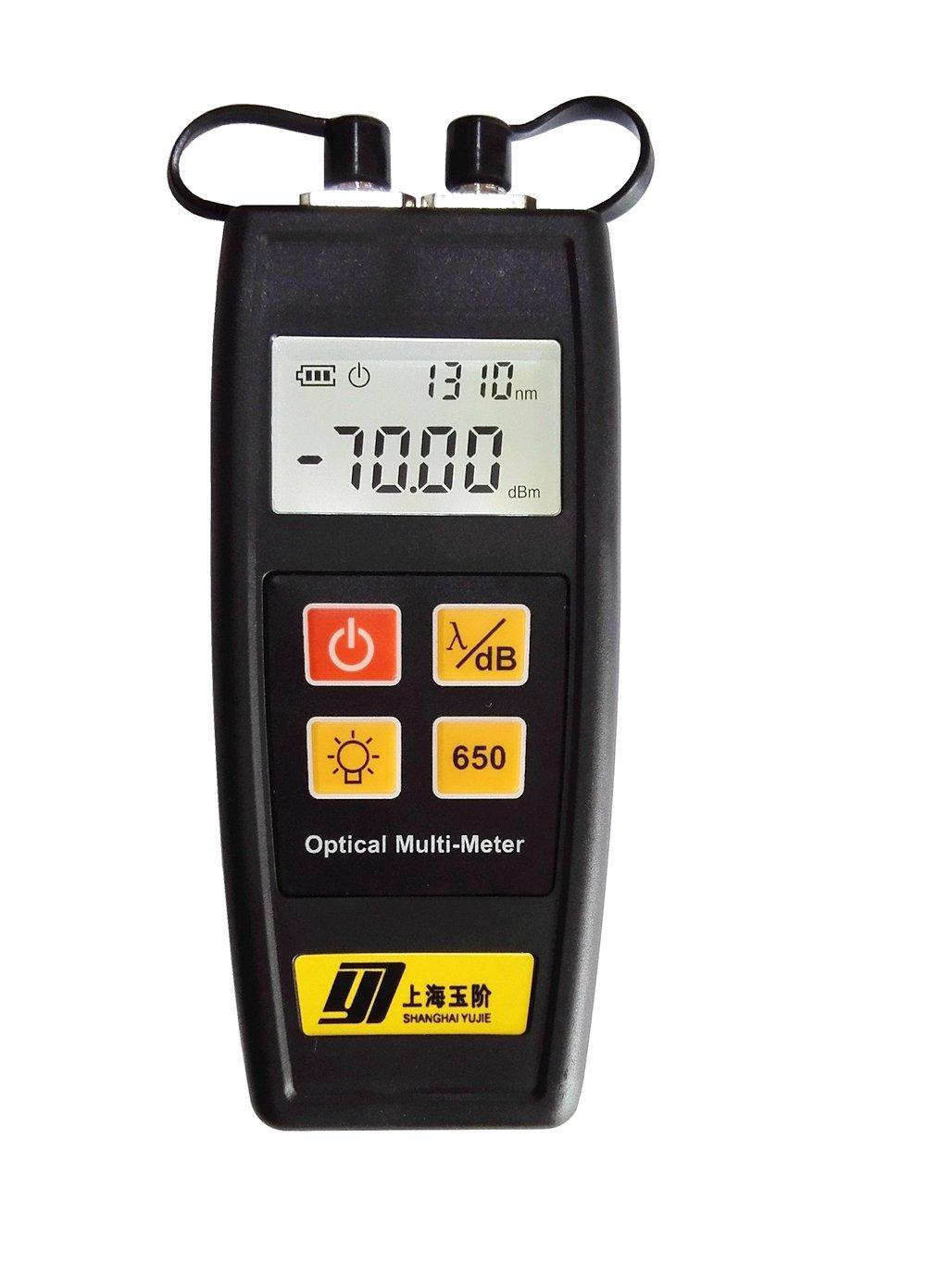 yj-550 a Mini Fiber óptica rojo medidor de potencia 800 - 1700 nm -70 ~ + 6 FC/SC/ST 10 m + rojo bolígrafo: Amazon.es: Bricolaje y herramientas