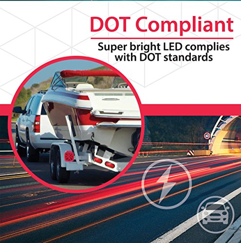 Wellmax-12V-LED-Trailer-Light-Kit-Utility-bulbs-for-easy-assembly-Attachable-tail-lights-for-RV-marine-boat-trailer-for-all-outdoor-terrains-DOT-compliant