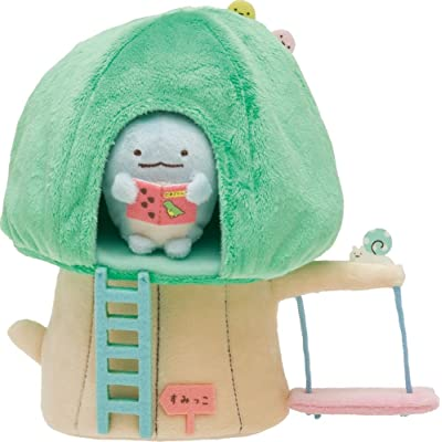 San-x Sumikko Gurashi Reading a Book in Tree House Japan Import: Toys & Games