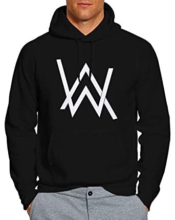 0ab15b10e24e3 Amazon.com  Alan Walker 5 Hoodie Pullover Unisex Sweatshirt BW  Clothing