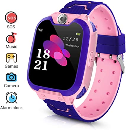 LYPULIGHT Niños Smartwatch Phone, Smart Watch Phone con ...