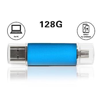 Unidad USB Flash con conector doble para teléfono Android funcional OTG, PC,