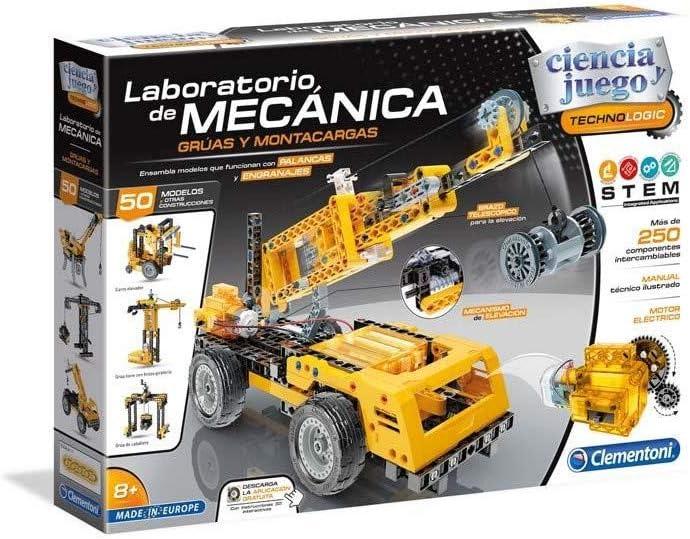 Clementoni- Laboratorio de Mecánica, Multicolor (55241)