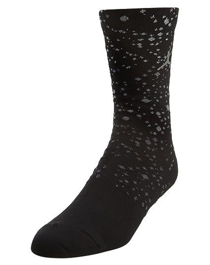 183764f4edb43 Amazon.com: Jordan Retro 5 Crew Socks Mens Style: 821836-010 Size: M ...