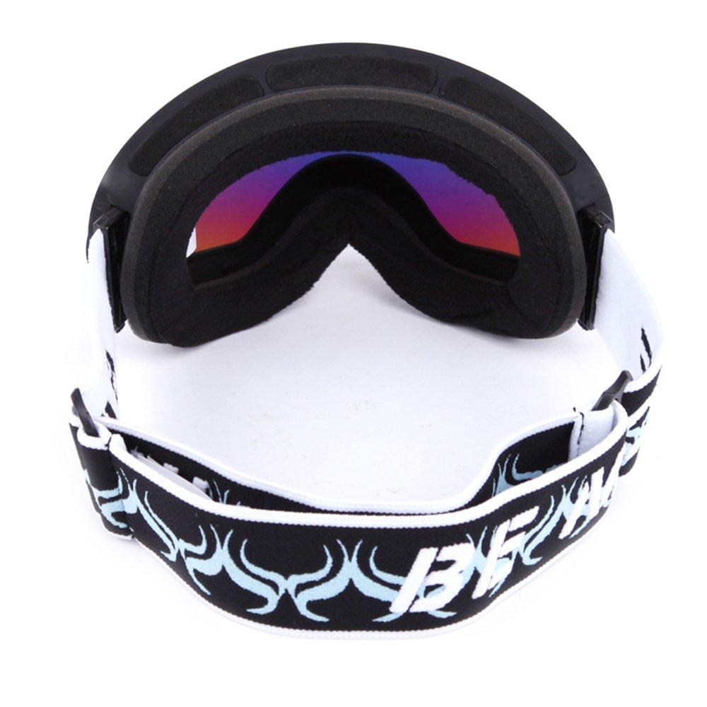 PhantomSky Création UV400 Protection Anti-buée Cyclisme Ski Neige Lunettes de Sport #1 - Pro Design pour les activités de plein air nQfzeXI3