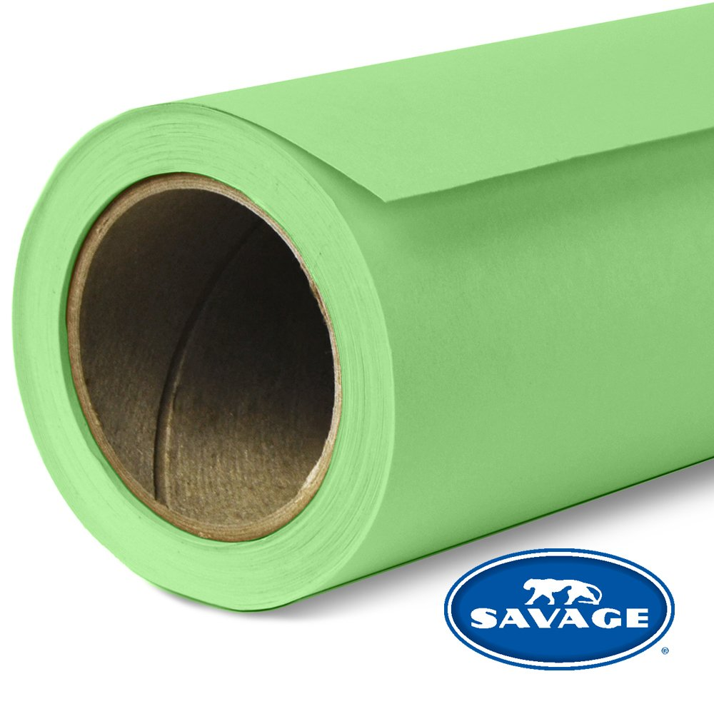 Savage Seamless Background Paper - #40 Mint Green (107 in x 36 ft)