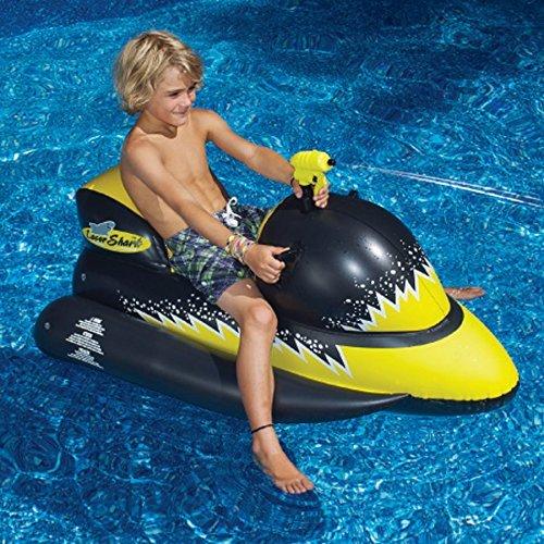 Laser Shark Squirter Pool Float