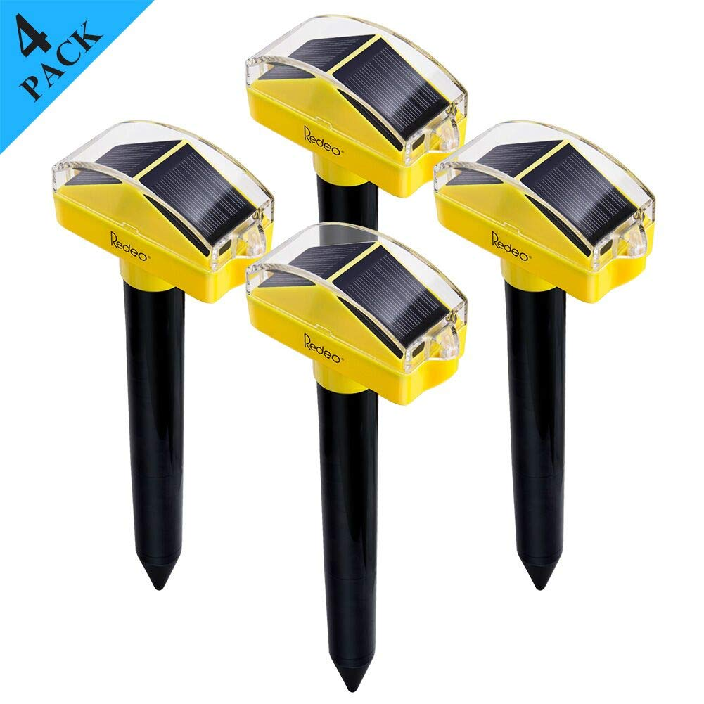 Redeo Solar Mole Repellent (4 Pack)