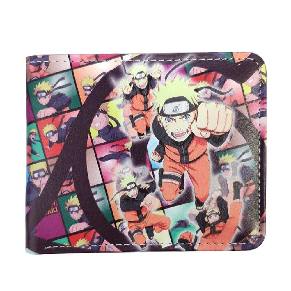 Pallima Billetera Wallet Purse Naruto Billetera Roja Nube ...