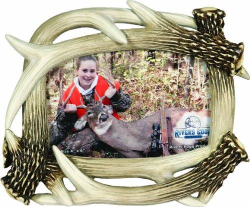 Rivers Edge Antler - REP Picture Frame Small Resin  Deer Antler