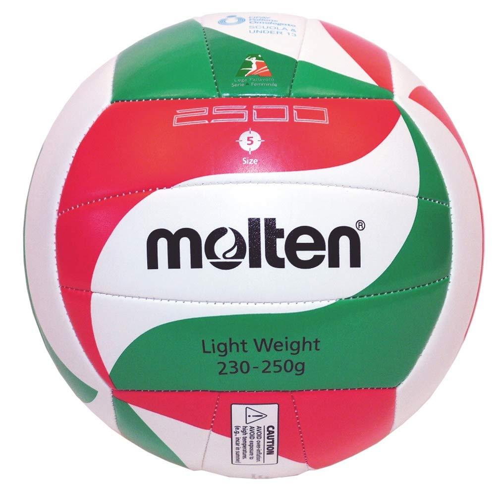 Molten v5m2501L 5501500hombre Ballone Volley Rojo