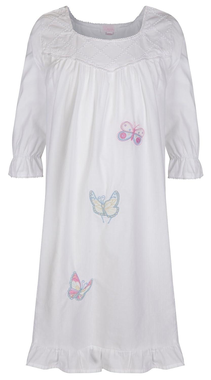 Niña Camisón 100% Cotton Mariposa Camisón Lucy: Amazon.es: Ropa y accesorios