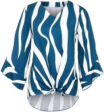 Poachers Blusas para Mujer Elegantes Tallas Grandes Camisas ...