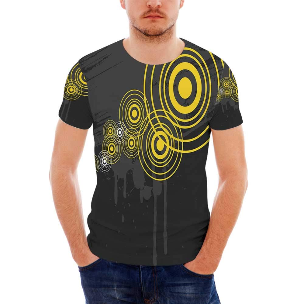 Murder Scene Fashionable T Shirt,for Men,S