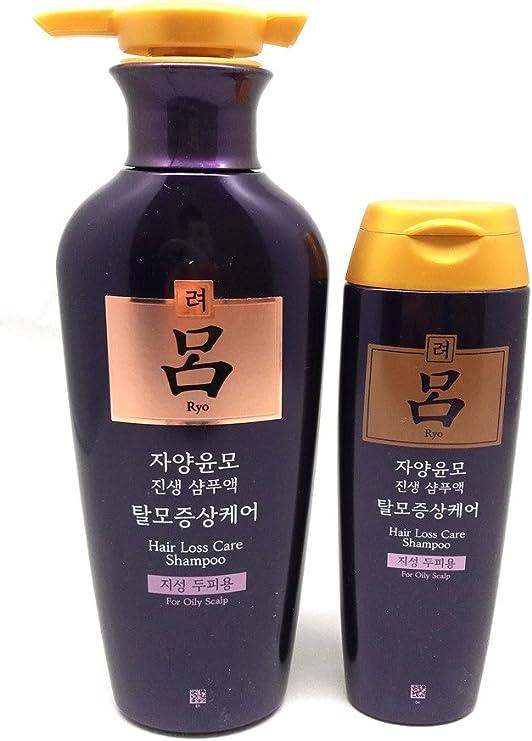 Amazon Com Ryoe Jayang Yoon Mo Anti Hair Loss Shampoo For Oily Scalp 13 53oz 400ml 180ml Sports Outdoors
