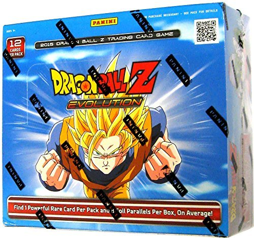 DBZ EVOLUTION Booster Box - 2015 Dragonball Z TCG Card Game! 24 packs!! (Dragon Ball Z Personality)