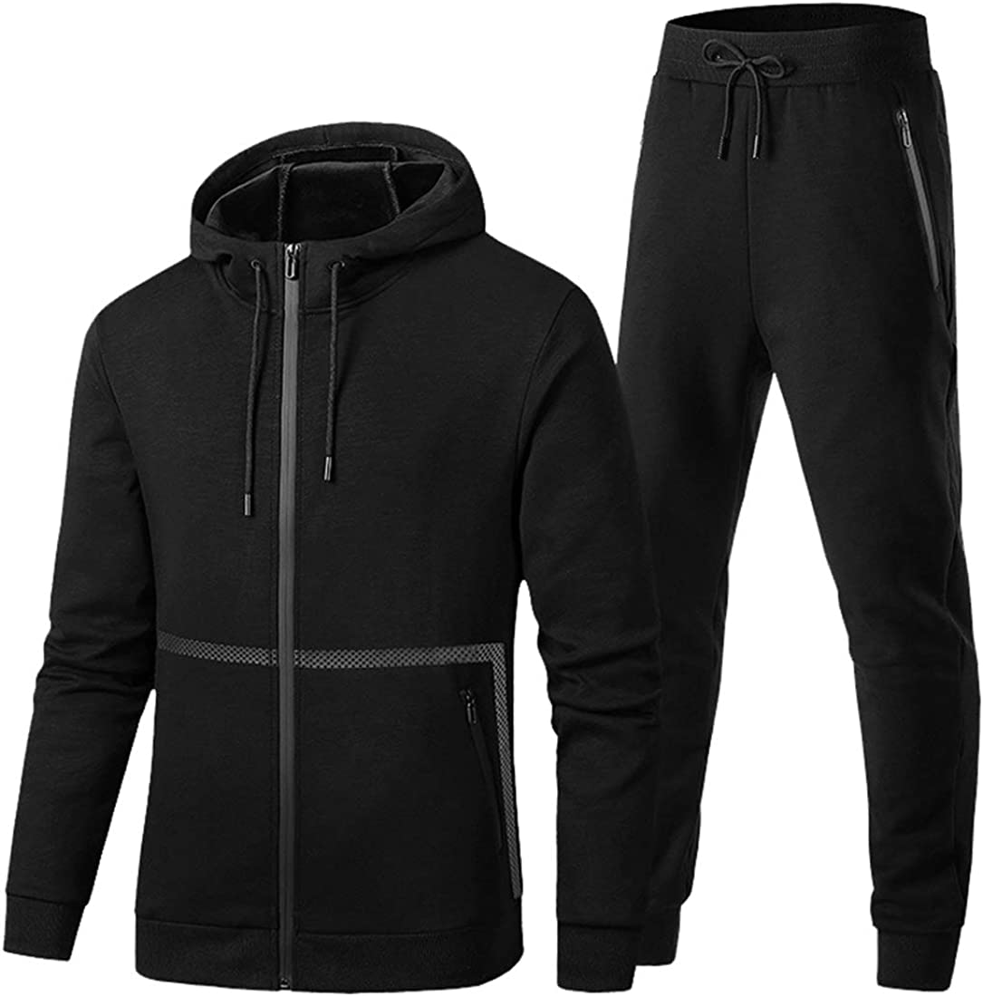 M/&S/&W Men Classic Sweatshirt Top Pants Sets Sports Suit Muscle HoodieTracksuit
