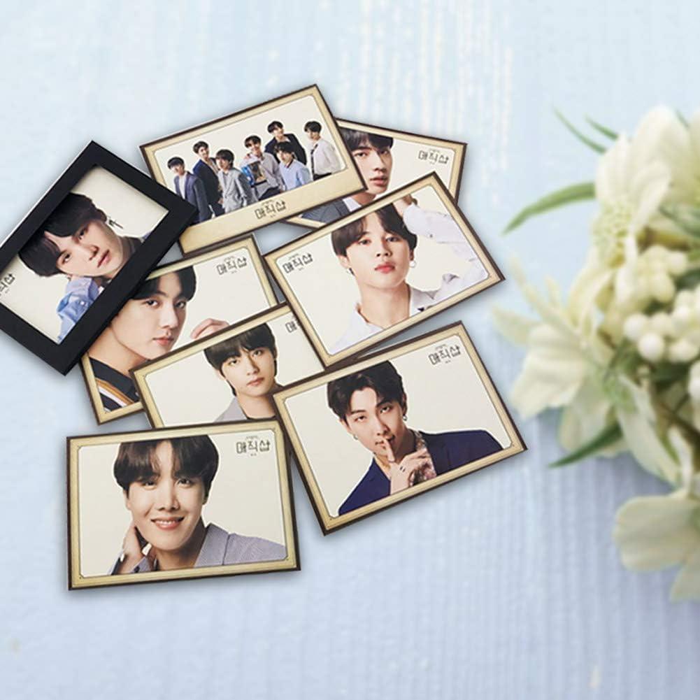 H01 Opopark Kpop 5th Muster Polaroid Photocard Lemon Card Bangtan Boys Postcard Cards