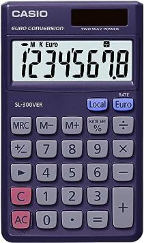 CASIO Taschenrechner SL-100 VER Solar-// Batteriebetrieb