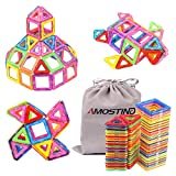 AMOSTING-Magnetic-Toys-Building-Tiles-Blocks-Stack-Set-64-pcs