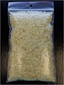 Meyer's 100% Pure Domestic USA Beeswax, Not Imported, Chemical Free Triple Filtered Pellets for All Your Do It Yourself