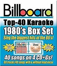 Billboard Top 40 Karaoke: 1980's Box