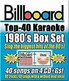 Billboard Top 10 Karaoke: 1980's Box Set