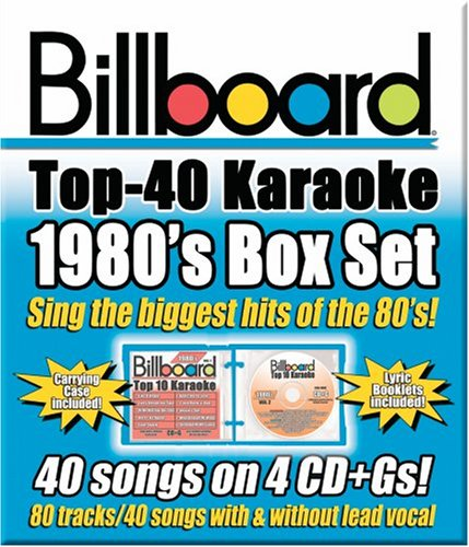 (Billboard Top 40 Karaoke: 1980's Box Set)