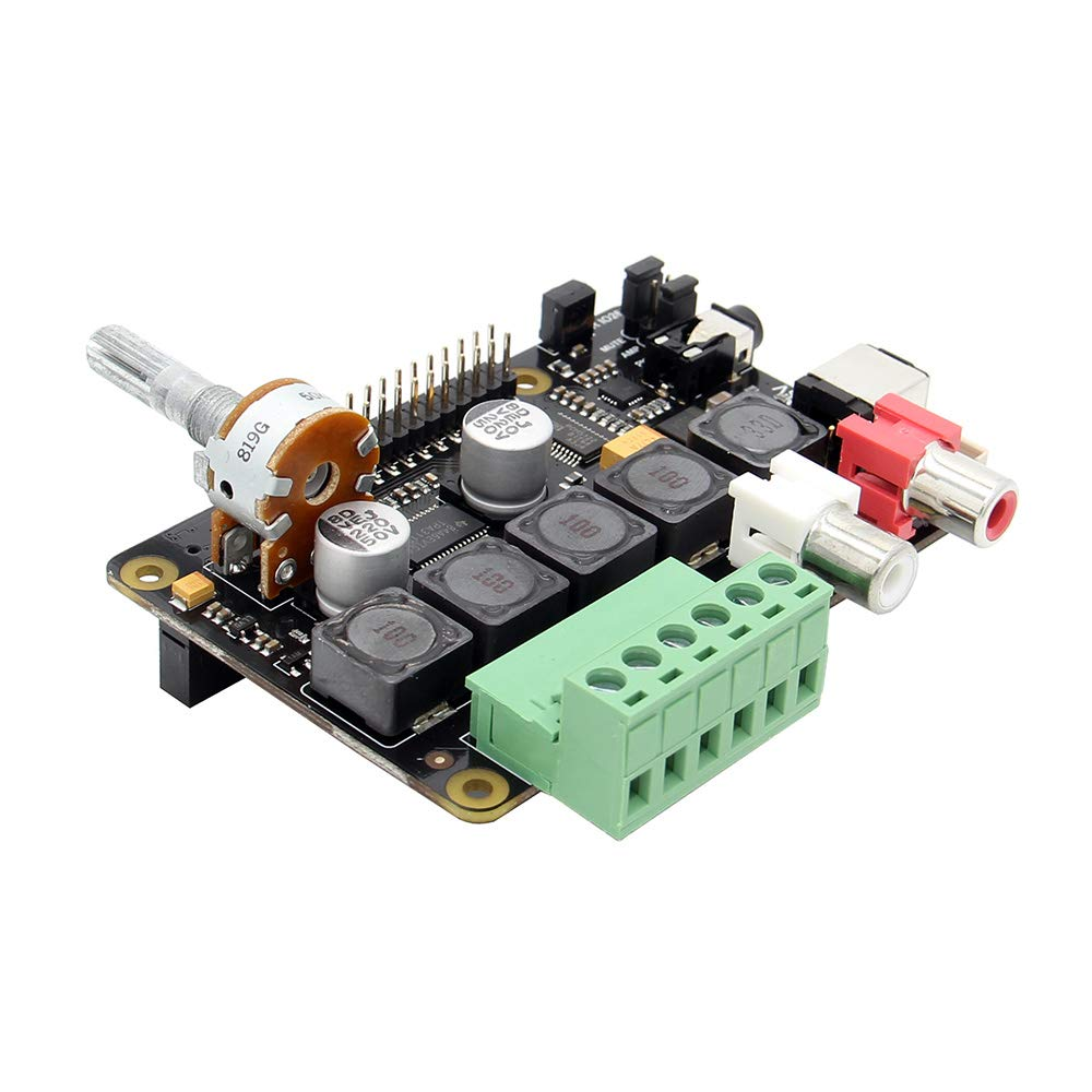 3 Modell A+ Musik-Player f/ür Raspberry Pi 3 Modell B+ X400 V3.0 Auidio Erweiterungsboard Soundkarte mit Class D 3B Raspberry Pi 3 B+ //3 A+ Full-HD DAC mit I2S Class-D TI PCM5122 Verst/ärker