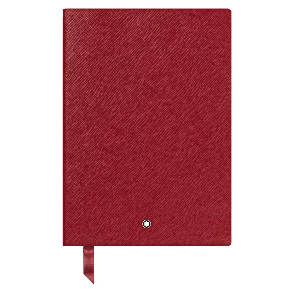 MONTBLANC FINE STATIONERY NOTEBOOK 146 RED LINED 116521