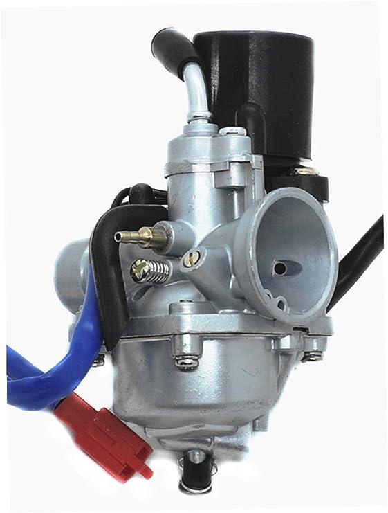 amazon.com: carburetor (electric choke) for 2 stroke dinli jp dino ... jp50 wiring diagram dinli  amazon.com